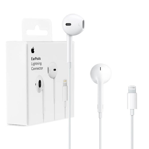 Apple EarPods with Lightning Connector (MMTN2ZM/A) Wired Headset with Mic