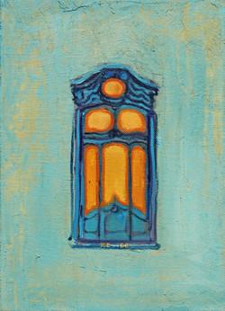 Eingang 2, 2006, Öl:Leinwand, 35×25 cm