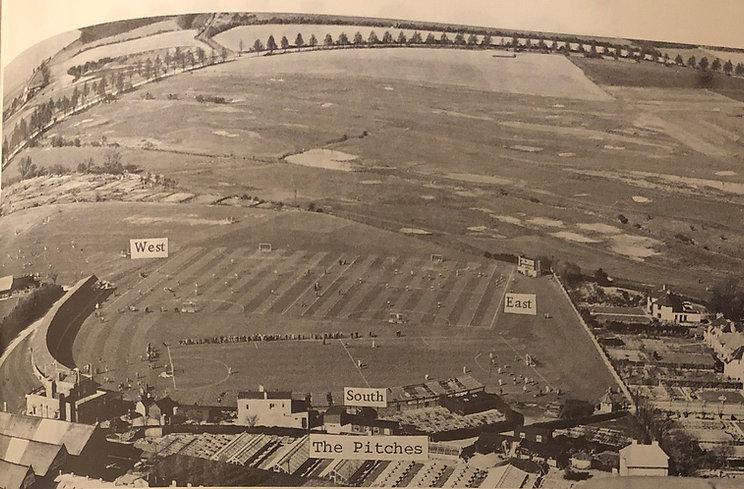 1977 cric ground hockey photo Folkestone