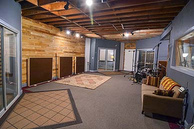 Fort Worth Texas Recording Studio SG Studios Tracking Room