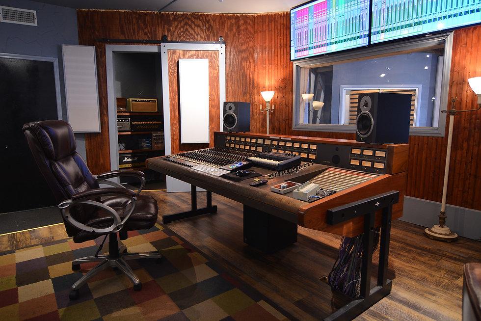 SG Studios Main Control Room