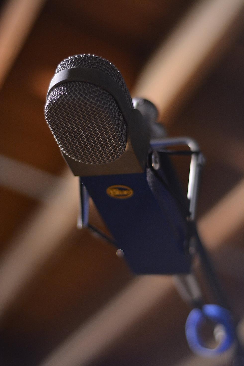 SG Studos Blue Microphone