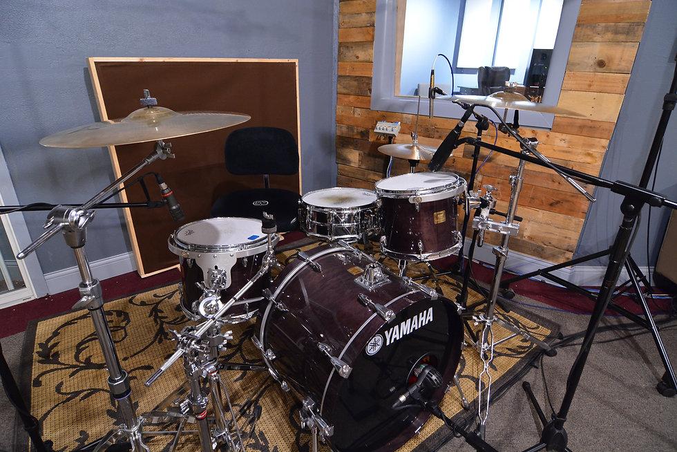 SG Studios - Main Tracking Room Yamaha Kit