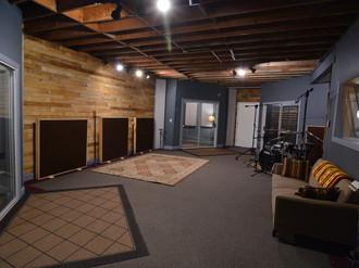 SG Studio's Main Tracking Room