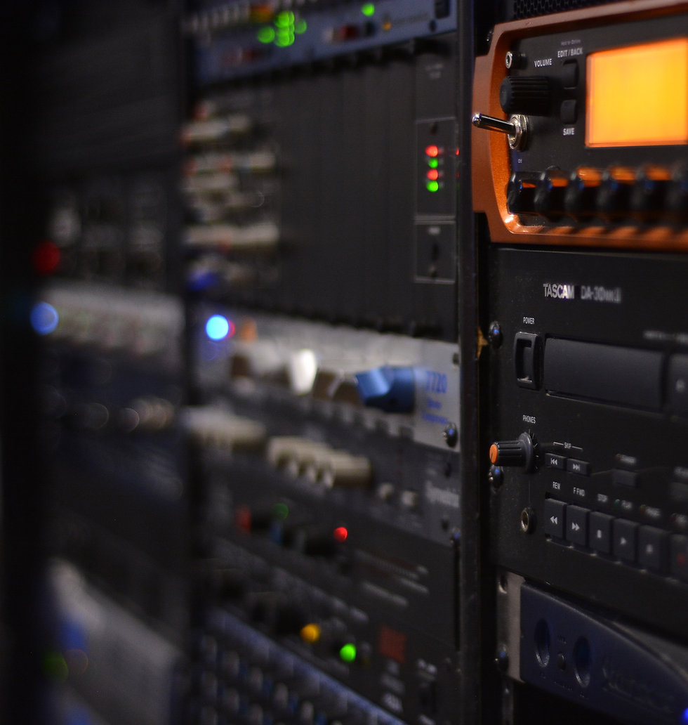 SG Studios Equipment Rack