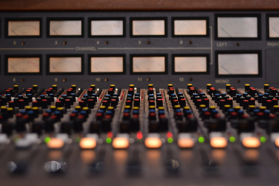 SG Studios Vintage MCI Console