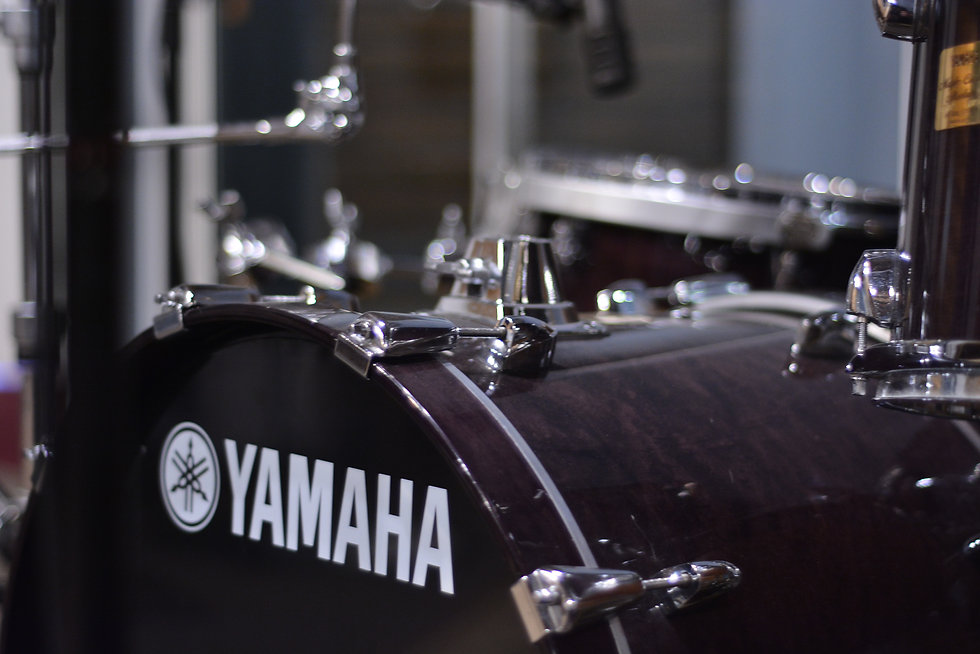 Fort Worth Premier Recording Studio SG Studios Modern Yamaha Drum Kit