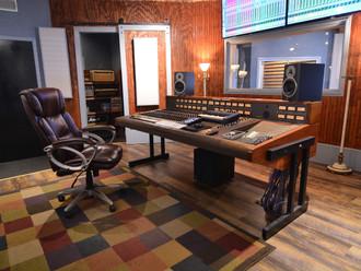 SG Studio's Studio A Control Room.