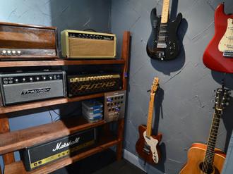 SG Studios Amp Room