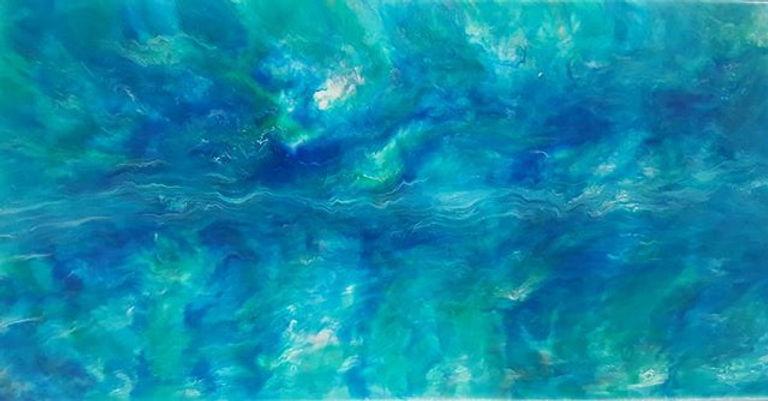 _Where dreams come from_ epoxy on canvas