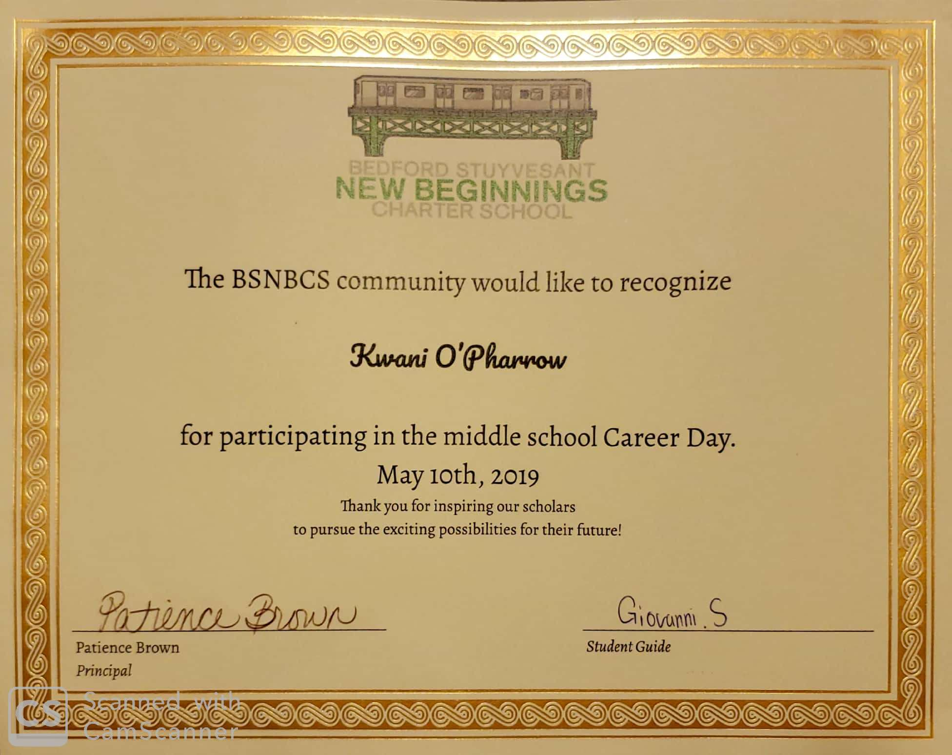 New Beginnings Career Day 5.10.19_1