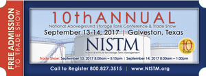 NISTM Trade Show ticket