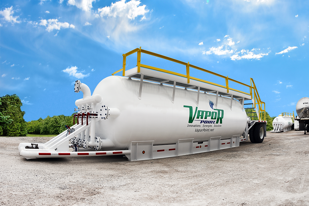 Vapor Point utilizes ASME code pressurized vessels and innovative processes to meet the needs of the refining industry.