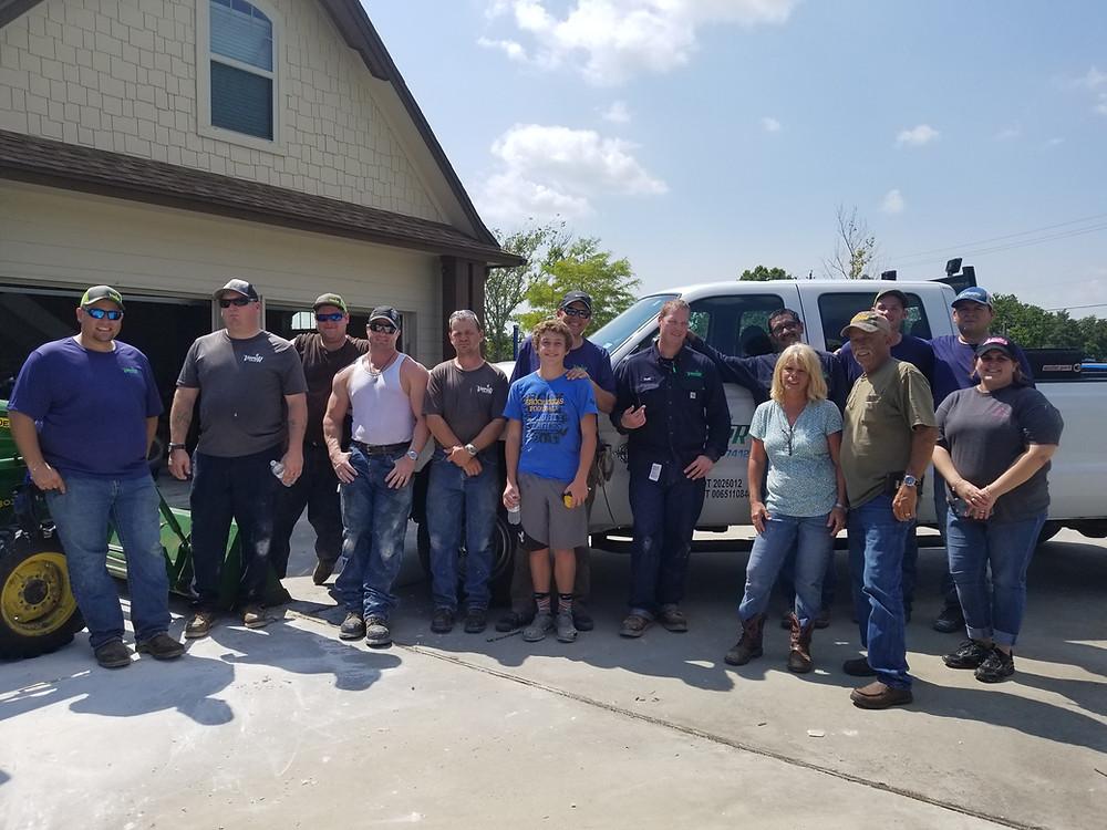 The Vapor Point Harvey relief crew