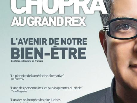 DEEPAK CHOPRA à Paris