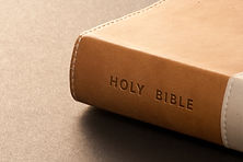 Holy bible detail