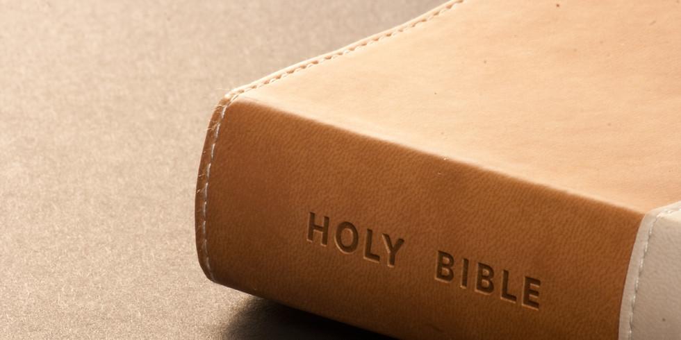 Bible Study with Pastor Bond