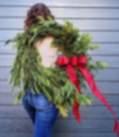 Our Evergreen Wreath pre-order is ✨LIVE✨