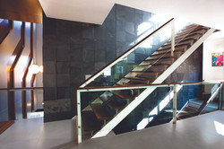 Internal office staircase