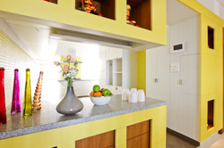 The kitchen entrance