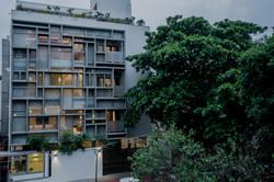 External view of West facade(2)