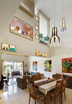 Living Dining and the frames