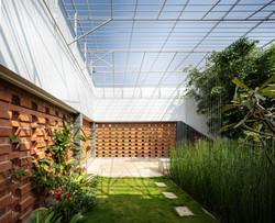 The Mezzanine garden from the Guest Bedroom