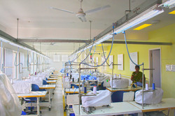 The factory training room