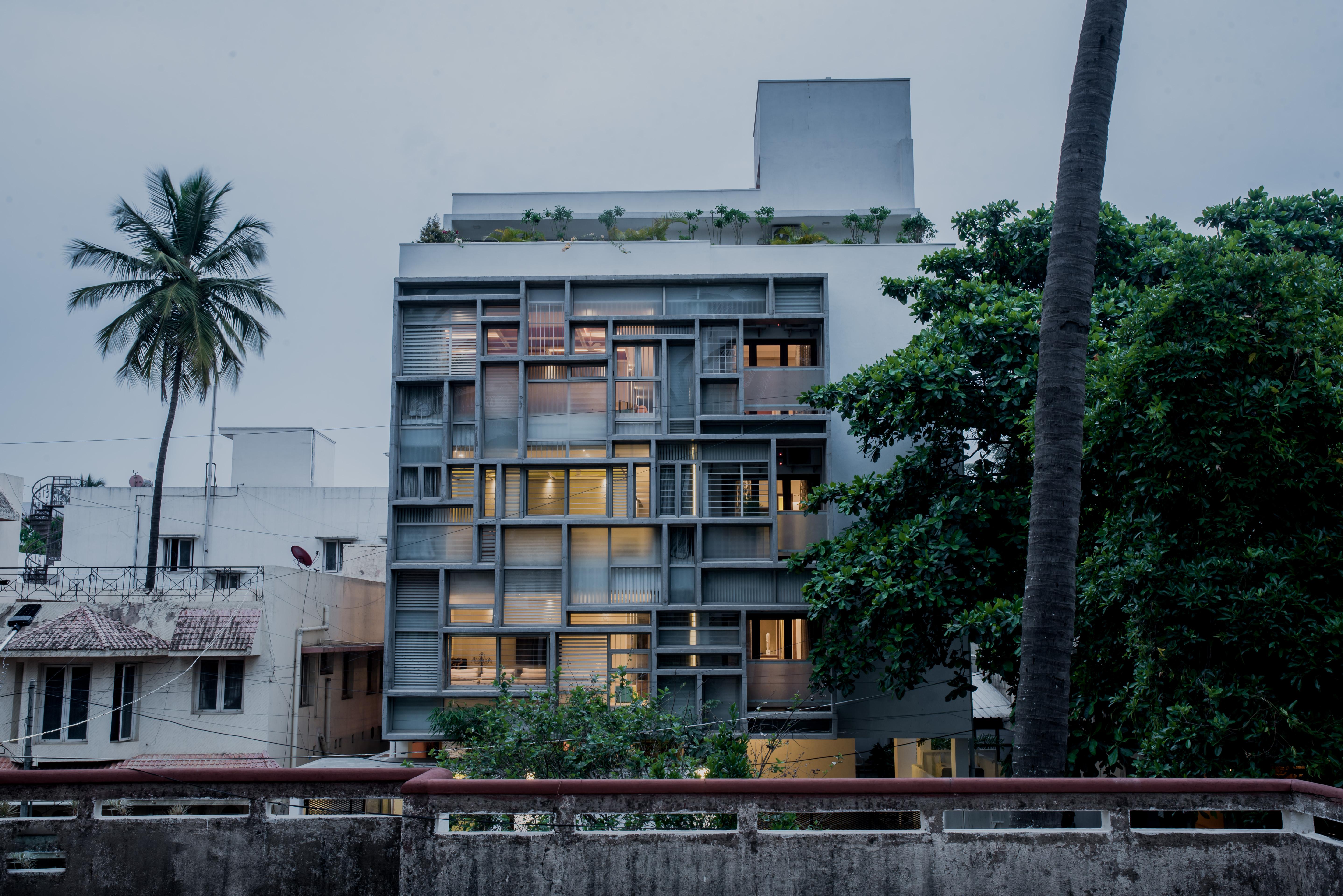 External view of West facade(3)