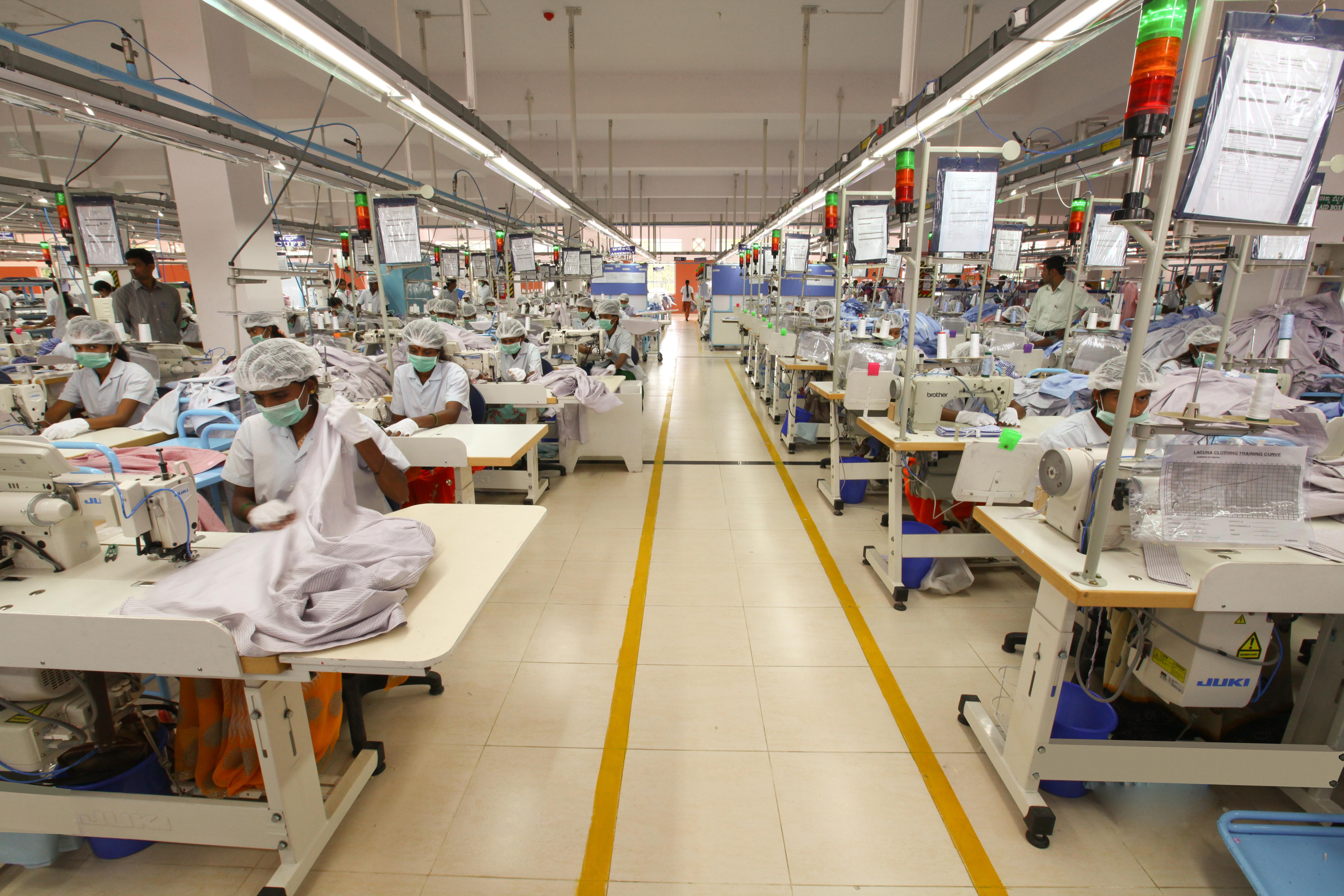 The factory work-floor