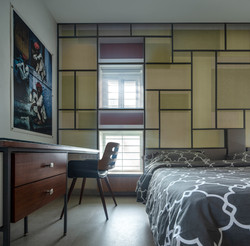 Bedroom with the Precast Boxed windows(1)