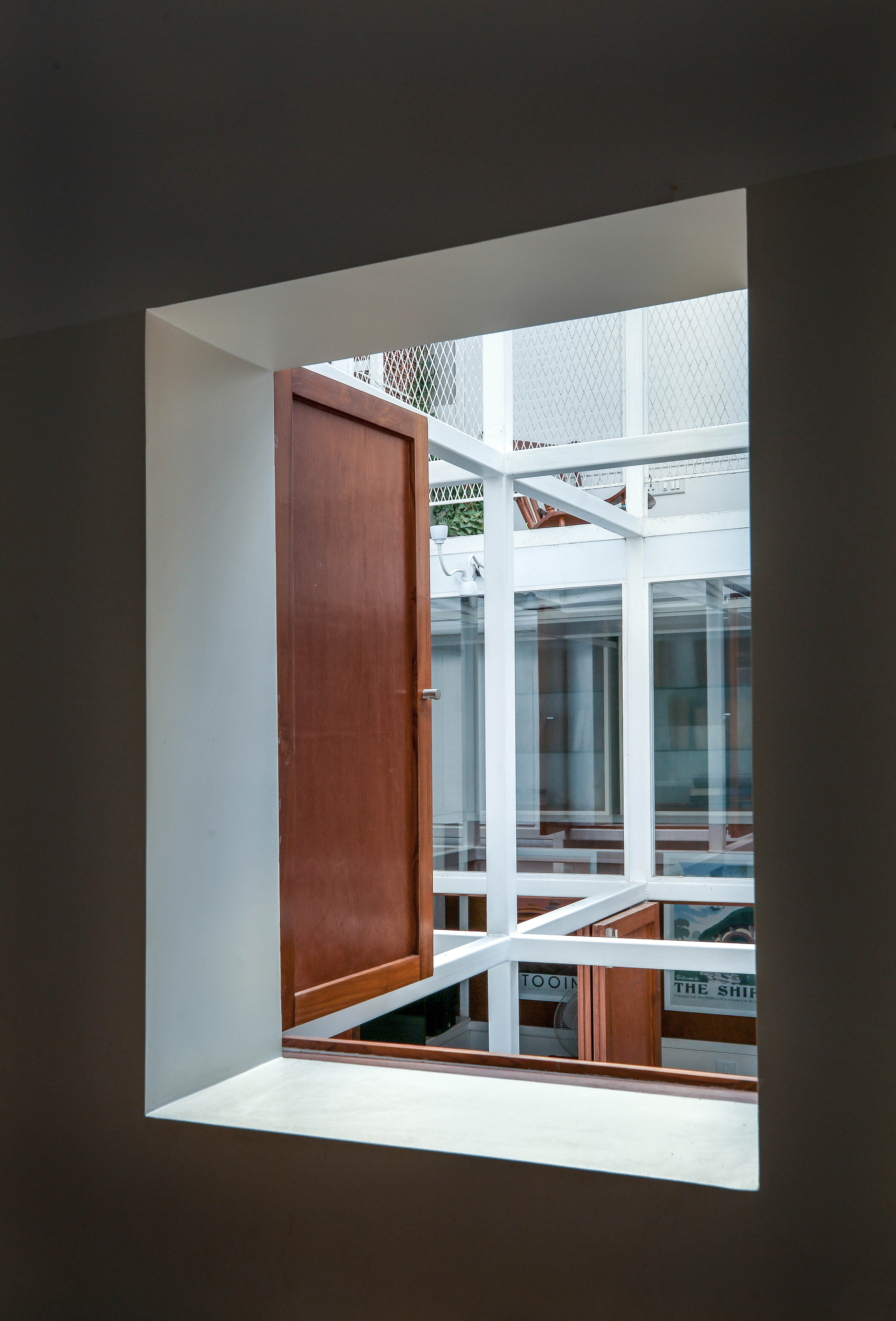 View Of internal frame