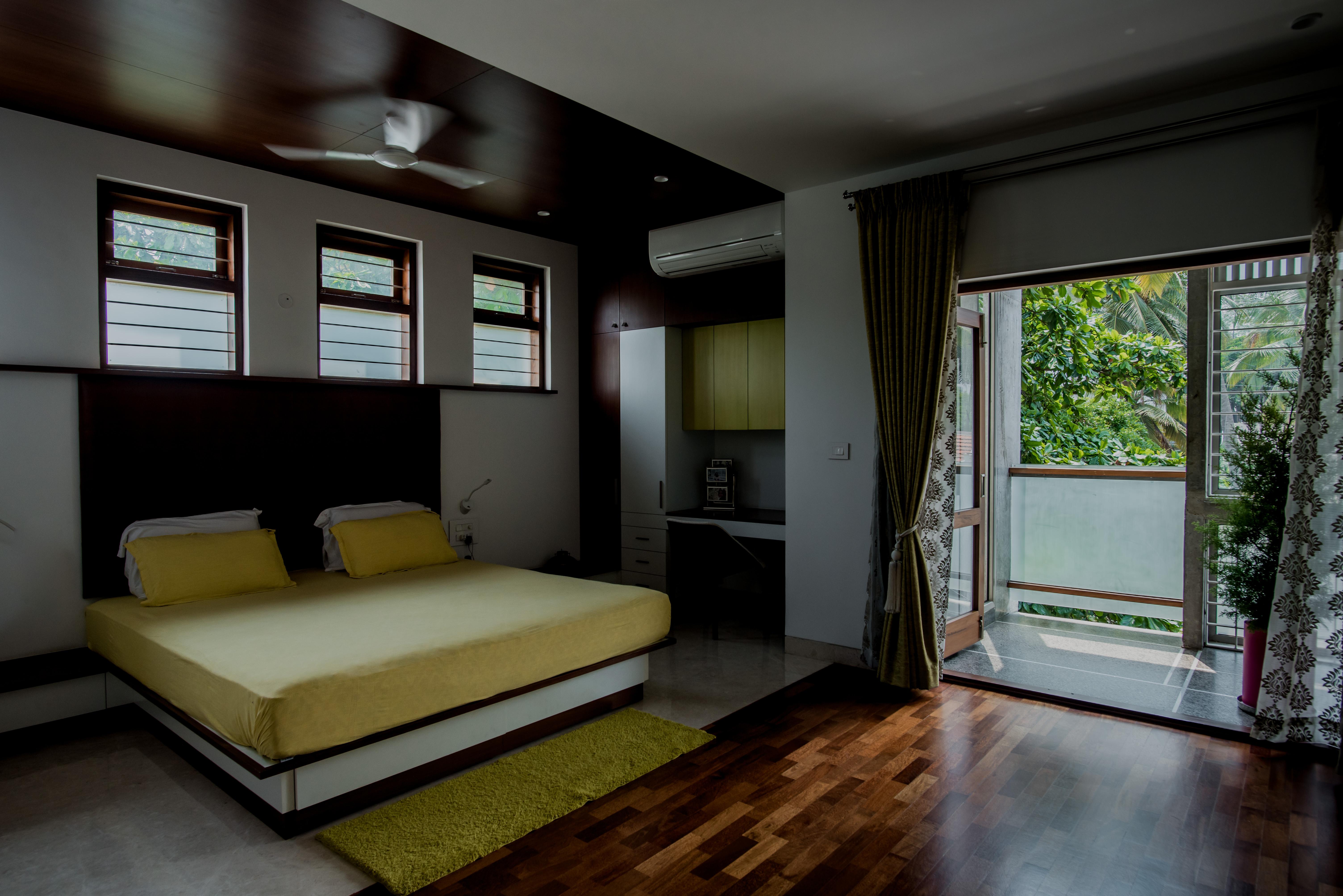 View of Bedroom overlooking the Balcony