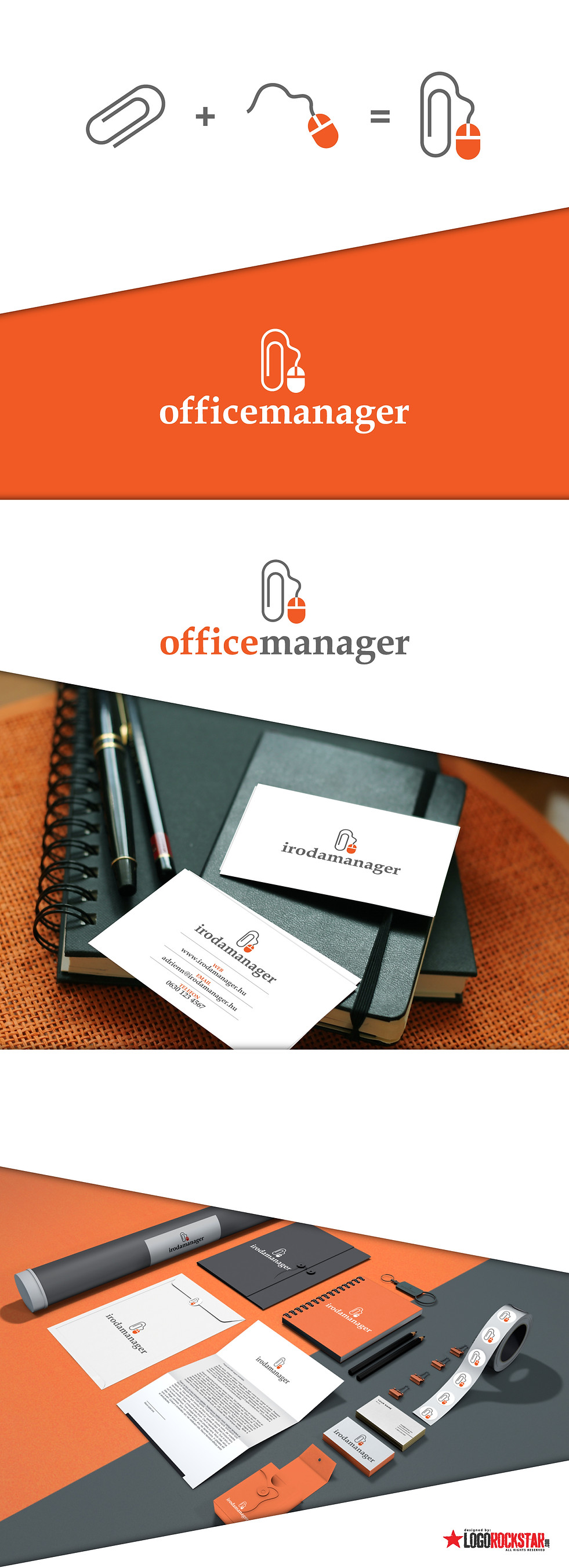 logorockstar office manager prezi
