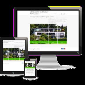 Premium Webdesign für Immobilien-Objekte