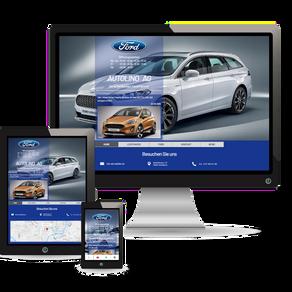 Premium Webdesign für die Fahrzeug-Branche