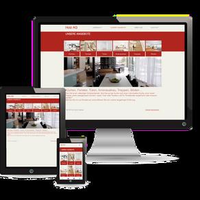Premium Webdesign für die Holzbau-Branche