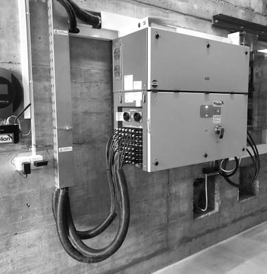 Wechselrichteranlage zur Wechselstromerz