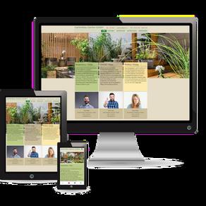 Premium Webdesign für die Gartenbau-Branche