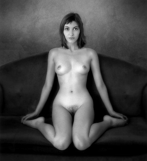 Improvised nude 043 _ Portrait