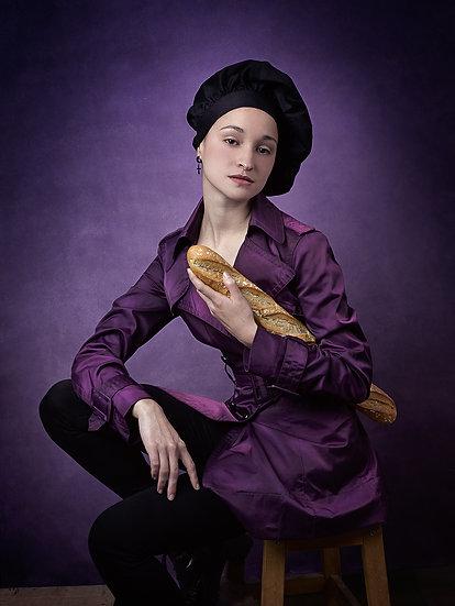 French girl I _ Portrait