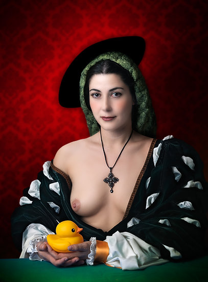 SM _ Lady with duck