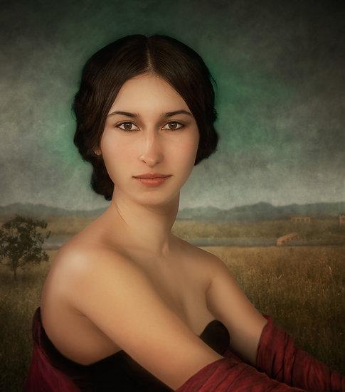 SM _ Cordovan lady portrait