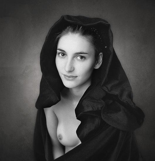 Improvised nude 046 _ Portrait