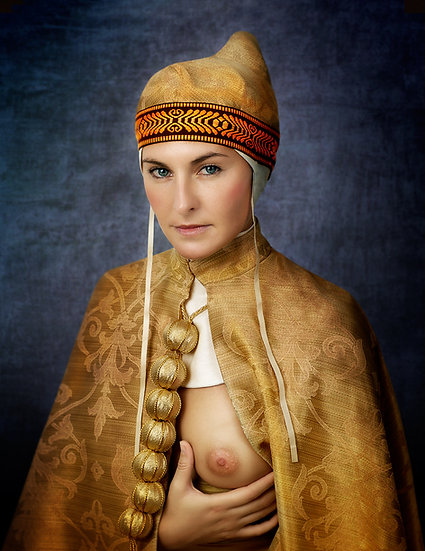 SM _ Lady portrait V