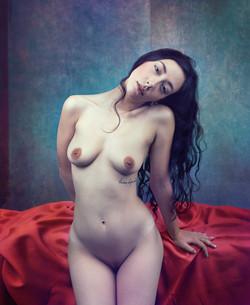 Modigliani Inspiration I _ Portrait