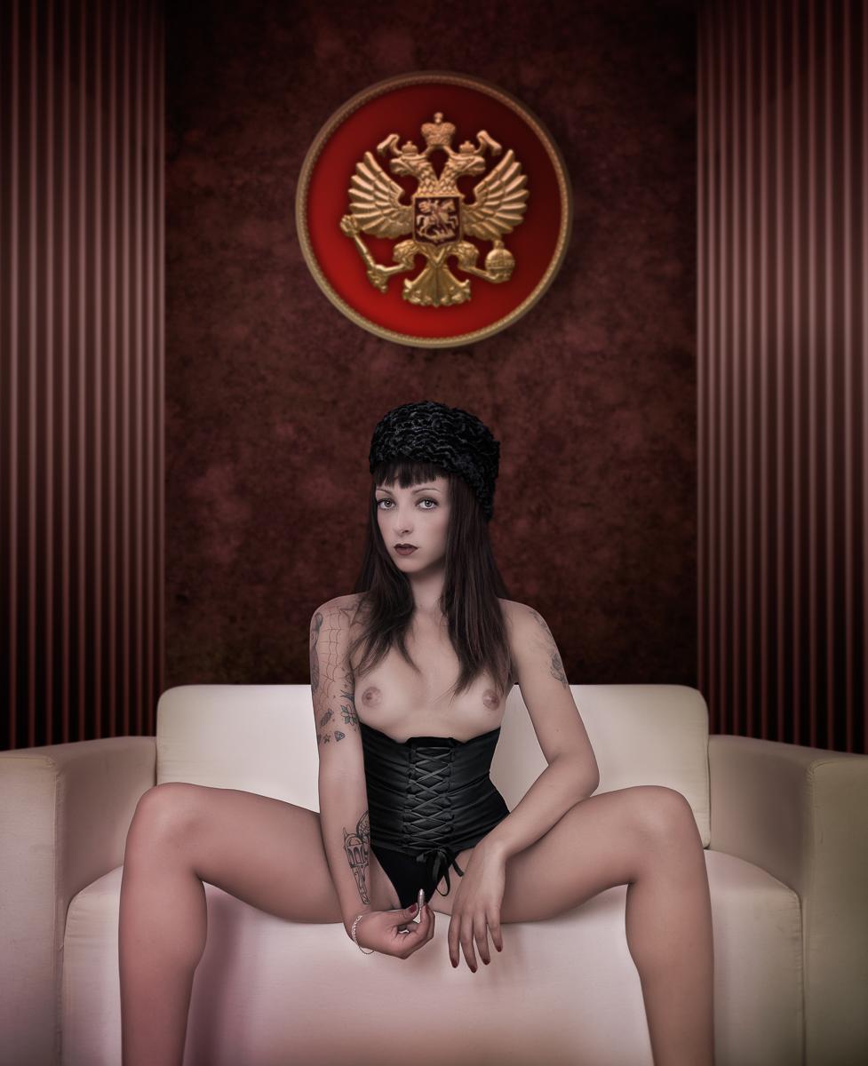 Russian Roulette _ Portrait