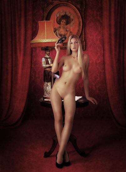 Blond Woman _ Portrait