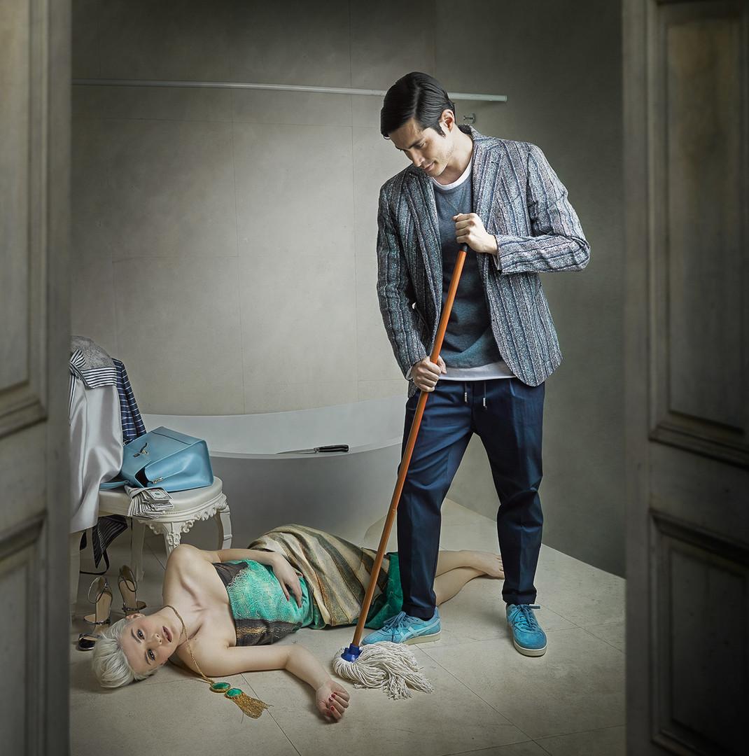 Psycho Movie by Mariano Vargas