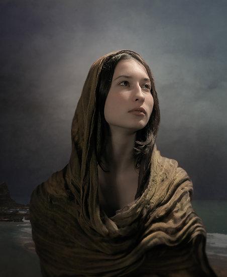Refugee woman I _ Portrait